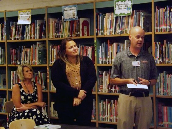 USD 428 school board at Eisenhower 2019