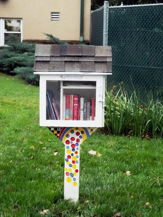 Little Free Library Brit Spaugh Zoo