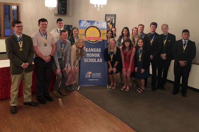 Kansas Honor Students GBHS class of 2020