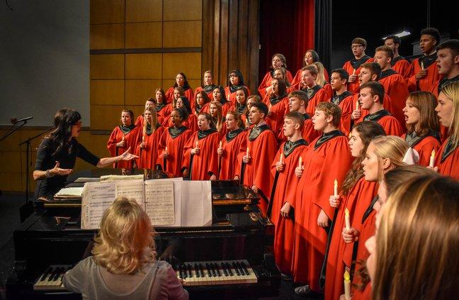 A Cappella Choir 2018-19