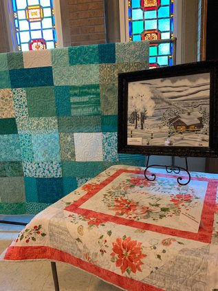 Trinity Lutheran soup supper quilt raffle