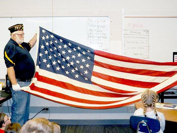 flag program Lincoln 2019