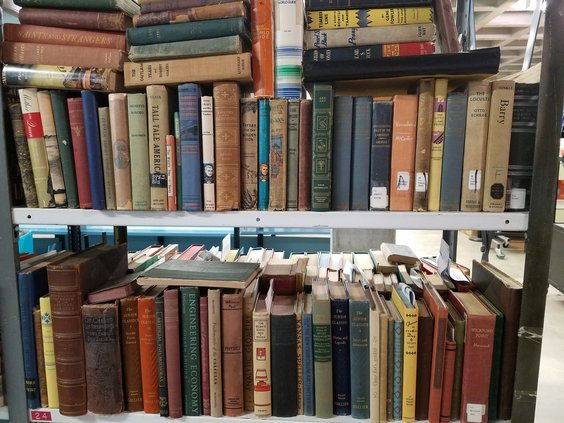 friends of library old books