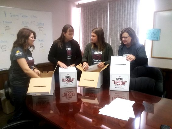 giving tuesday boxes