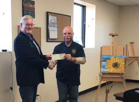 Ellinwood KoC donation Sunflower 2020