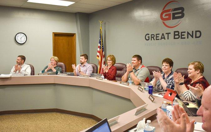 school board applause 2020