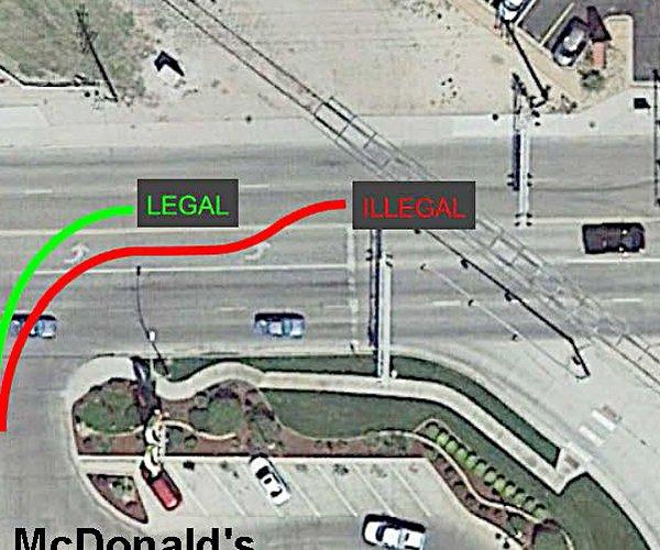 mcdonalds intersection