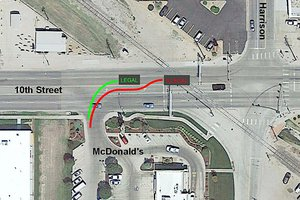 mcdonalds intersection