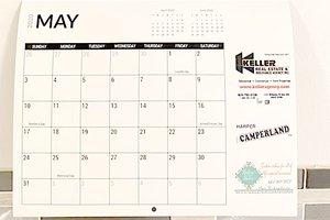 Daneline 2019 calendar May