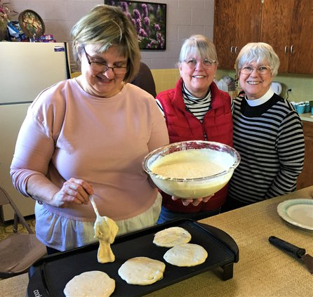 St Johns pancake supper