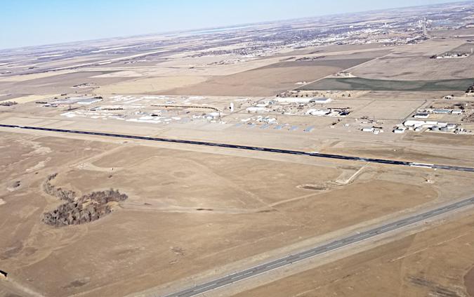 airport runway pic