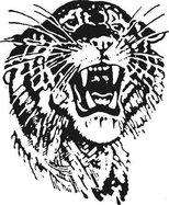 St. John Tigers logo b w.tif