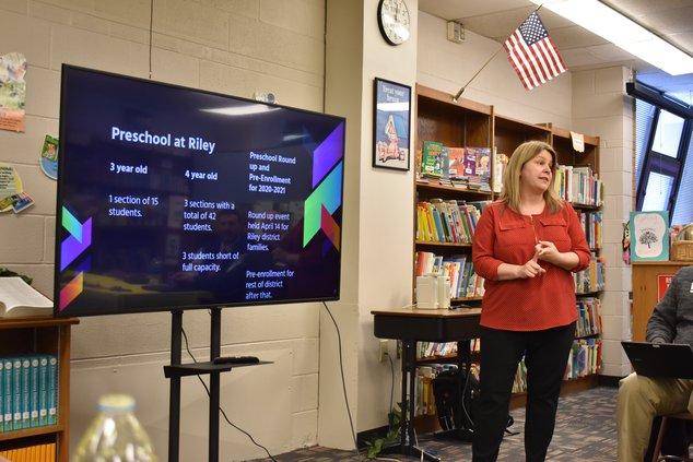 Beth Rein Riley school board 2020