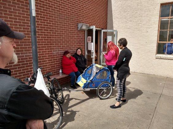 Kimberly Becker visits