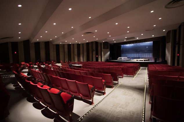 Bcc auditorium empty