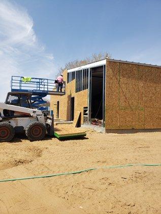 camp aldrich trails end new construction