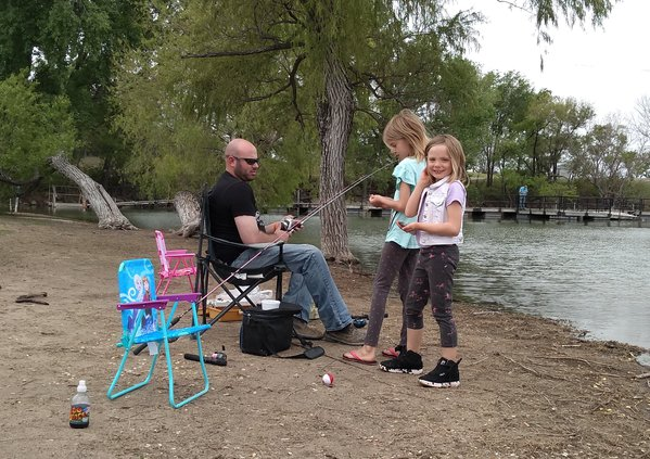 Vets' Lake Fishing