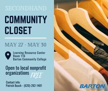 BCC clothes closet