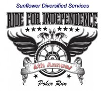 sunflower poker run logo 2020
