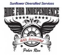 sunflower poker run logo 2020
