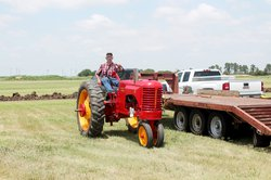 new-vlc_Massey tractor Larry Peters of Hutchinson.jpg