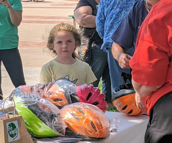 bike helmet giveaway 2020