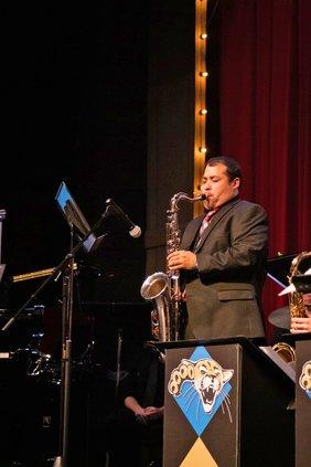 BCC Palacios performing