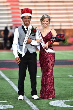 2020 GBHS Homecoming king and queen