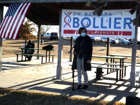bollier at vets park 10-29-20