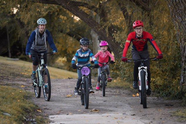 VanSkike family bikes file photo