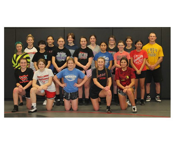GB girls wrestling