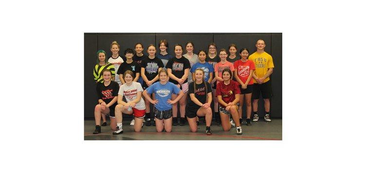 GB girls wrestling