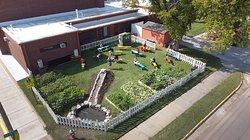 park school garden 2020