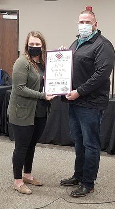 city generosity award pic