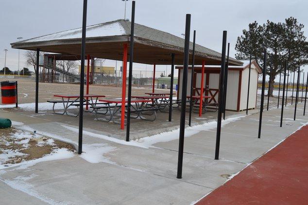 Tennis Court Ramp