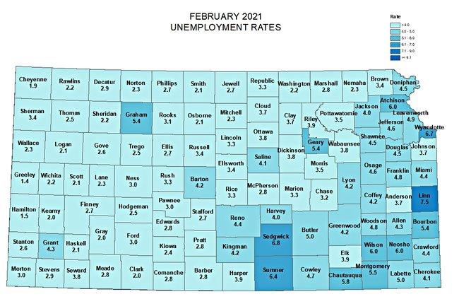 february 2-21 jobless map