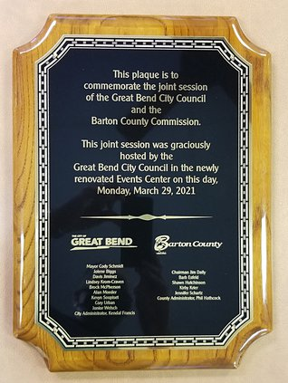 joint meeting plaque
