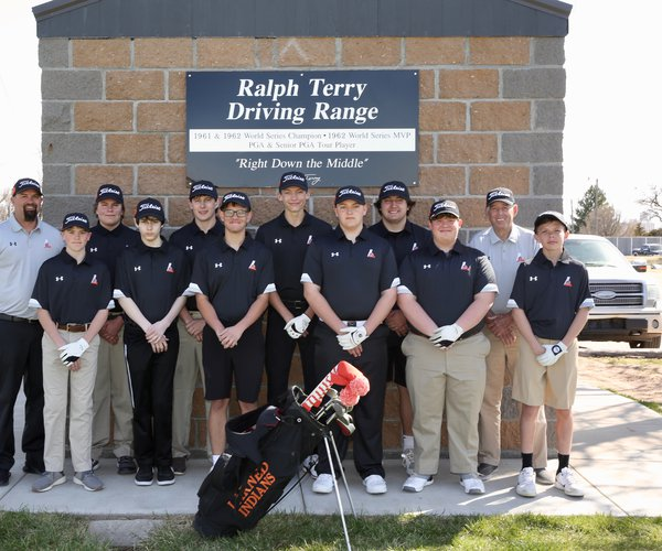 2021 LHS golf team