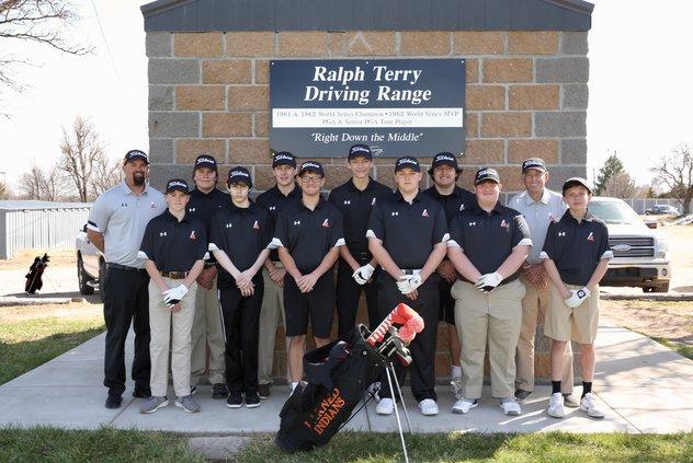2021 LHS golf team