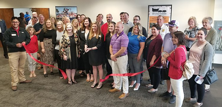 events center ribbon cutting