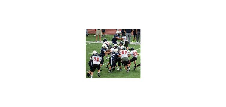 GBMS 8th football