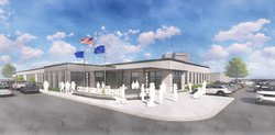 new police station rendering